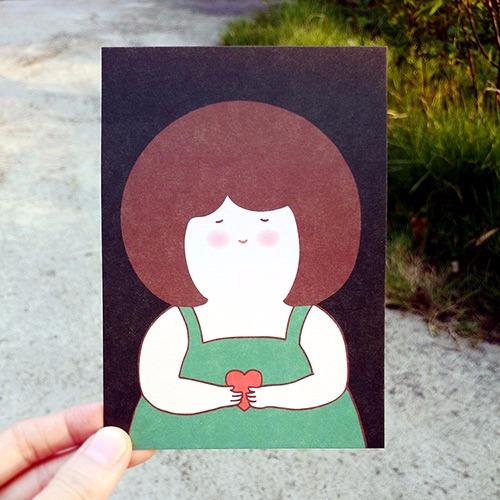 《KerKerland》最開心的時刻,是和你在一起☉明信片