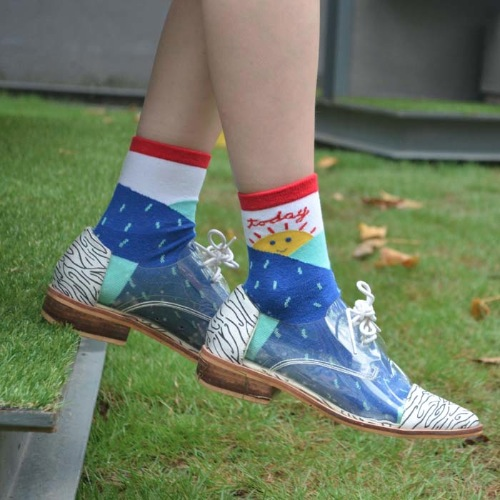 Today is Sunshine Socks