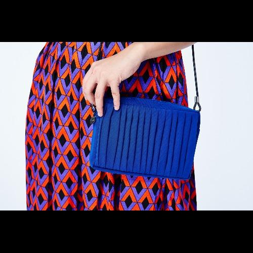  南庭系列 小方包-寶藍色