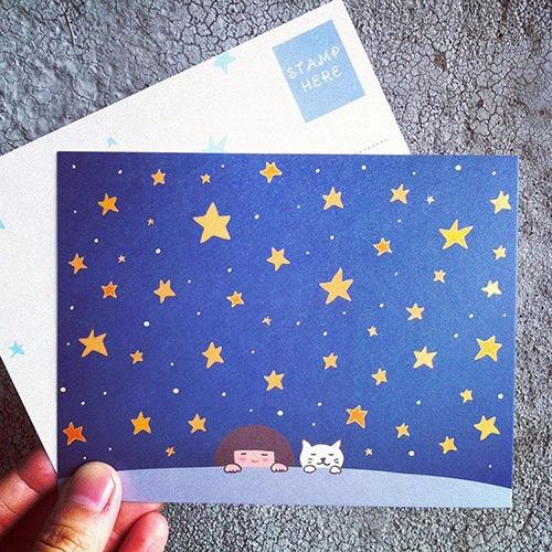 《KerKerland》我們擁有的,是滿天星辰☉明信片