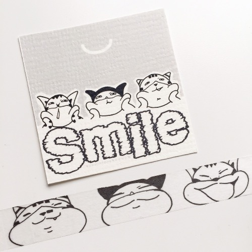 Smile 紙膠帶