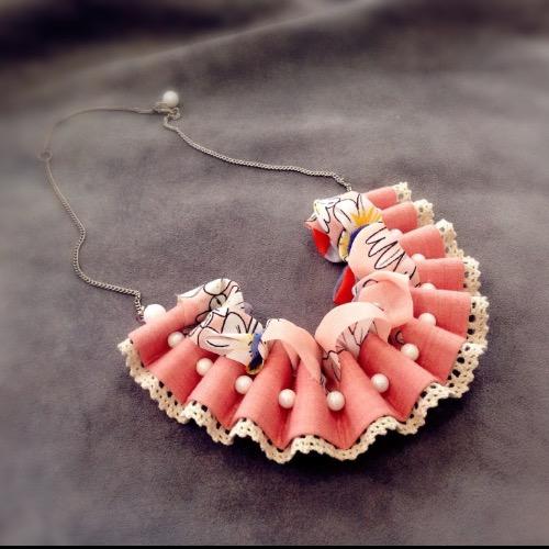 SuGarKA 雙面扇形頸飾