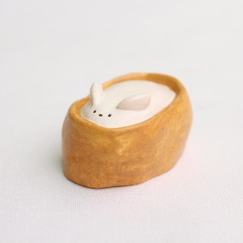 豆皮壽司兔/擺設
