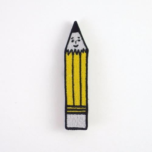 刺繡別針 / 鉛筆