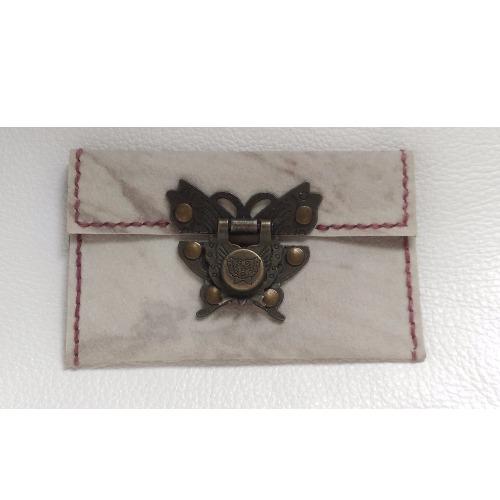 超薄雲石中式鎖扣名片包