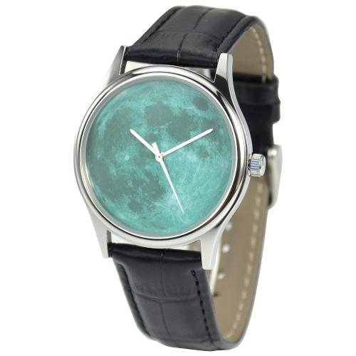 月球手錶 (碧綠) - 中性 - 全球免運