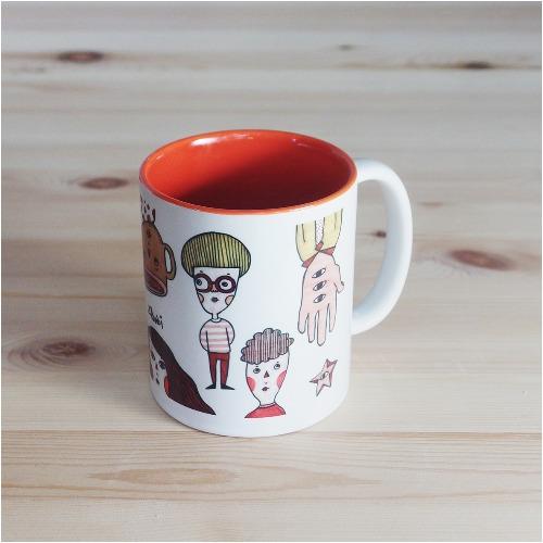 色彩系列馬克杯 熱咖啡