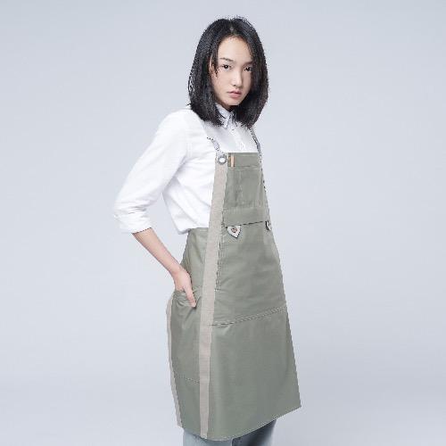 防潑水圍裙 ACE - 淺橄欖綠色