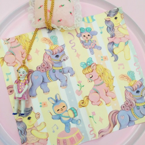 Pony Parade - OnlyTwo〔BYC印花萬用布〕