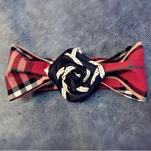玫瑰花Bow Tie/BT#16232
