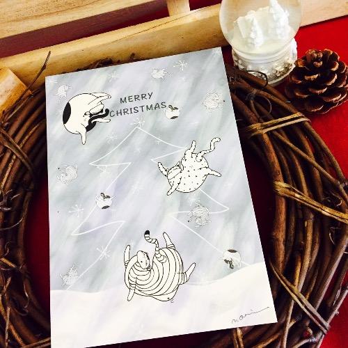 記憶中的christmas明信片(銀色世界)