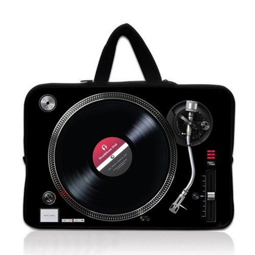 HeadphoneDog時尚唱盤筆電包