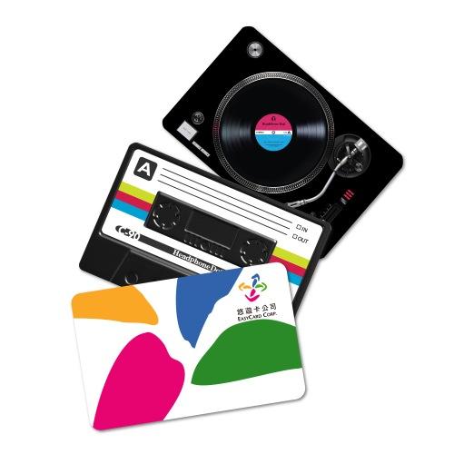 防水交通卡貼紙-音樂設計款(共8款)卡貼 八達通