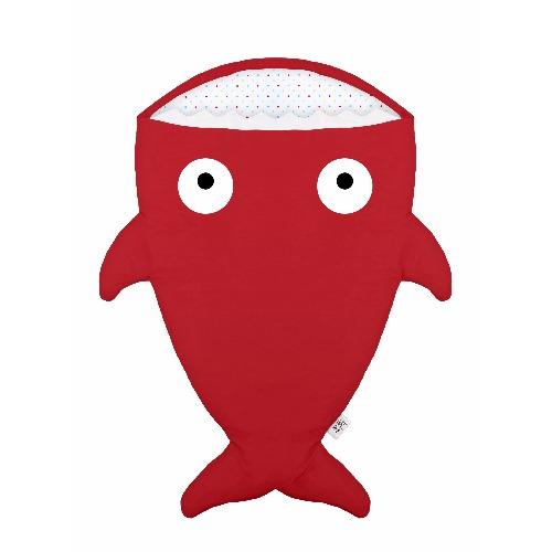 【BabyBites】西班牙製100% 純棉手作嬰兒/幼兒睡袋|防踢被|紅色《夏季版》波點圖案