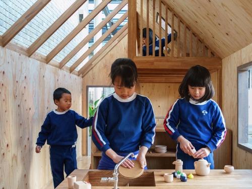 透過建築設計,引發小朋友的想像力與好奇心