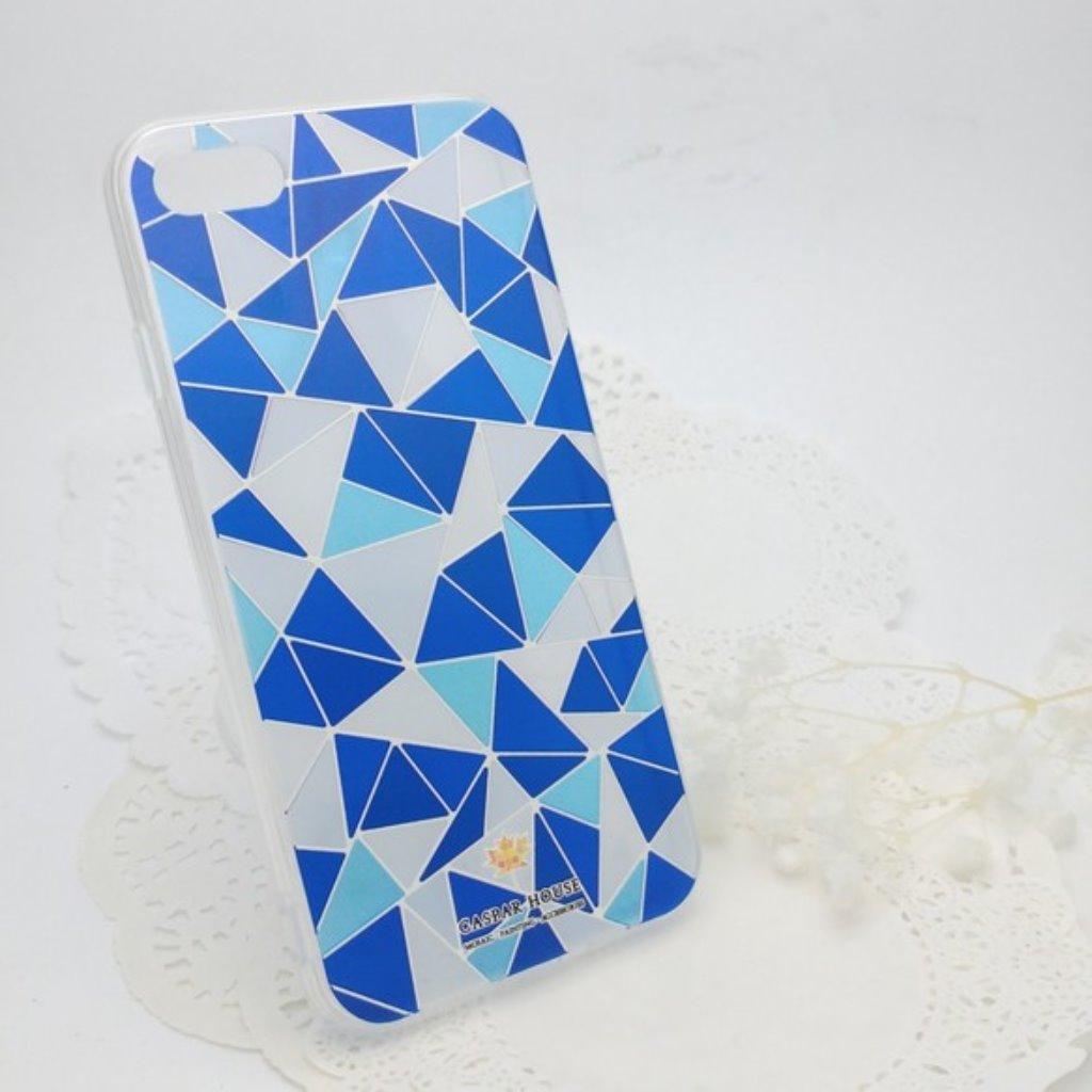 馬賽克手機殼 iPhone 7 plus (藍色)