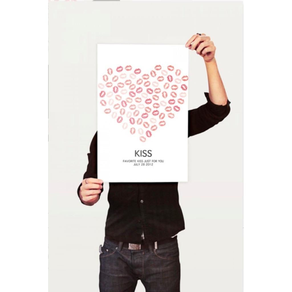 簽名樹-Kiss