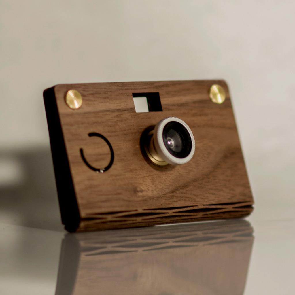 CROZ D.I.Y Digital Camera(輕量木質北美黑胡桃木 Simple Lightweight)