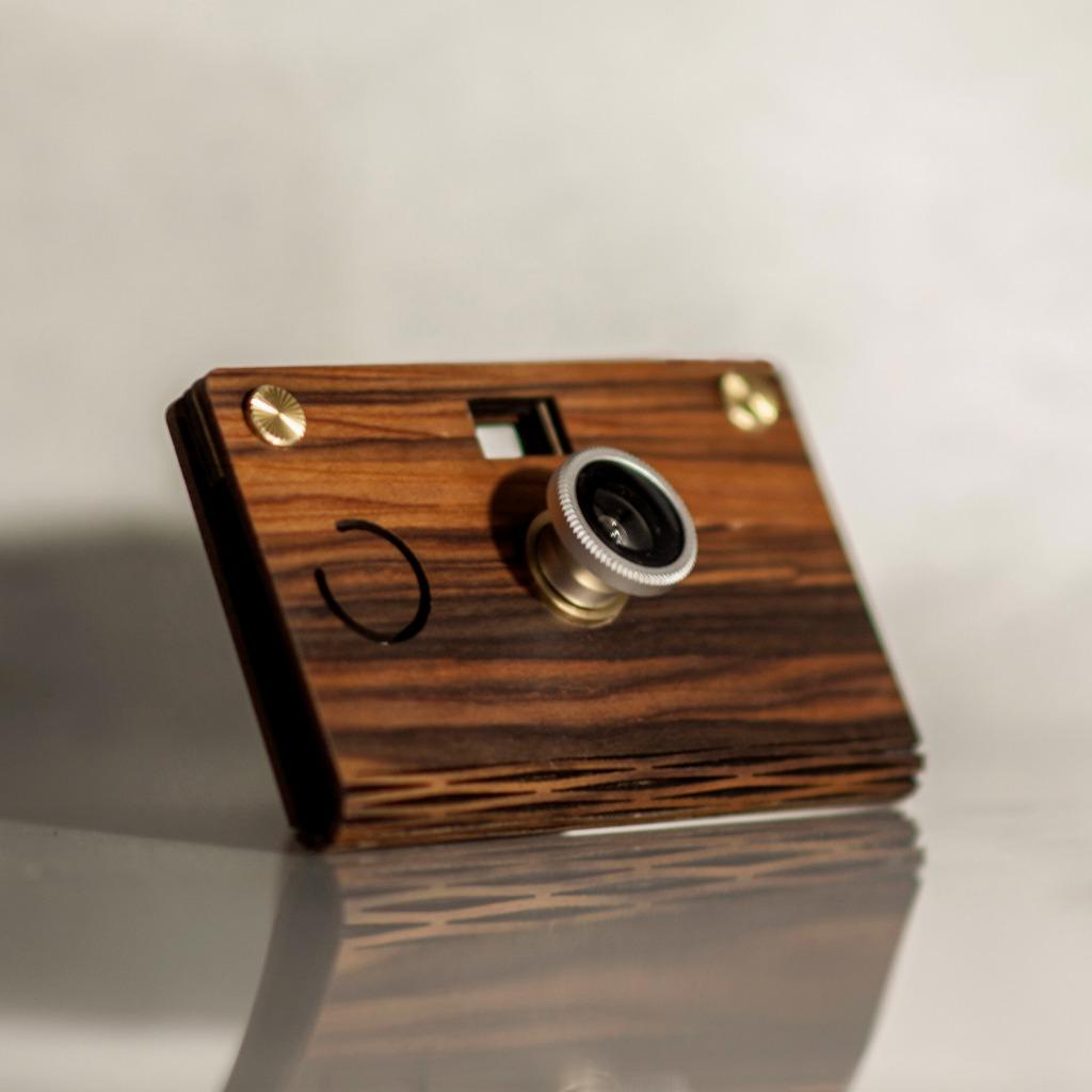 CROZ D.I.Y Digital Camera(輕量木質紫檀木 Simple Lightweight)