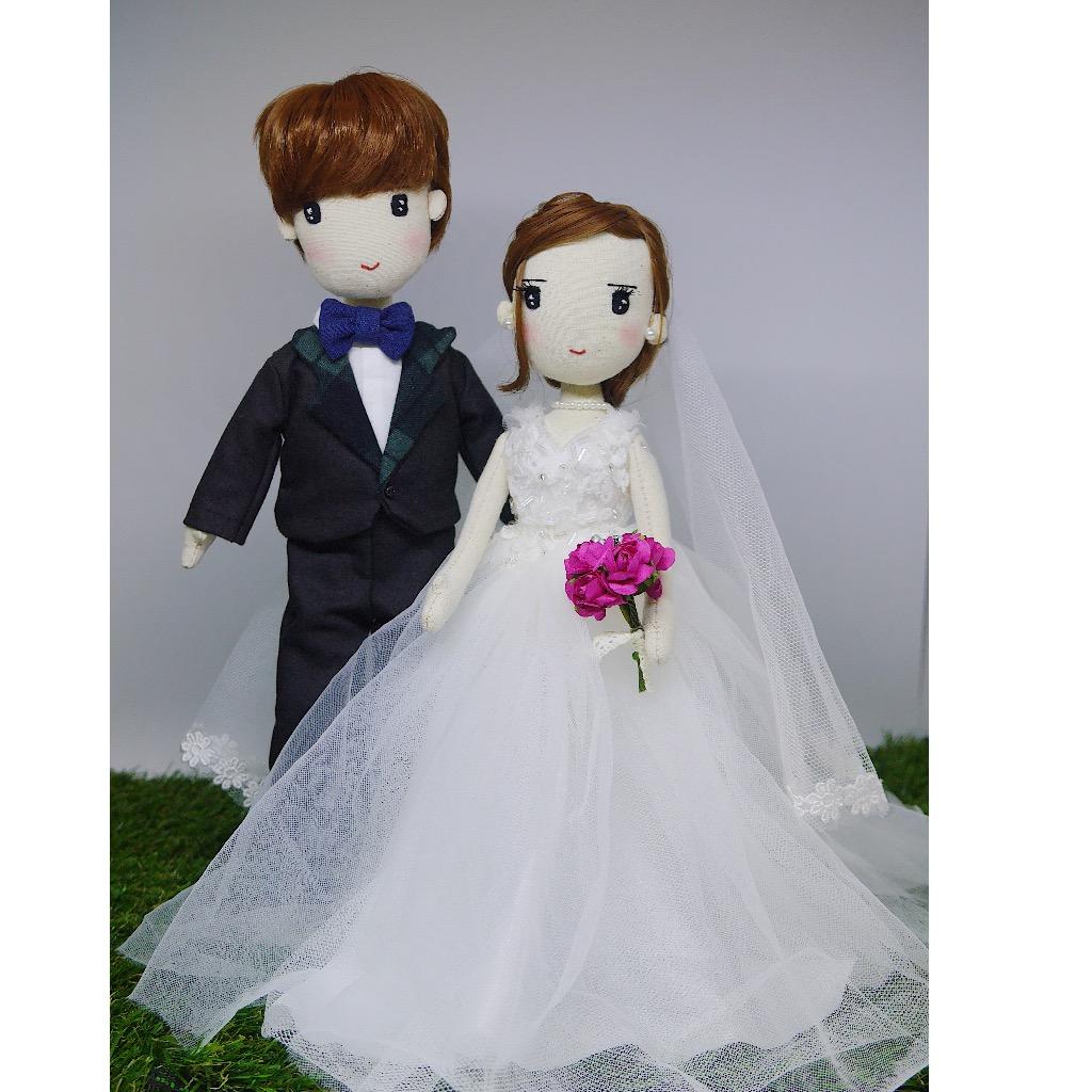 手工结婚对偶