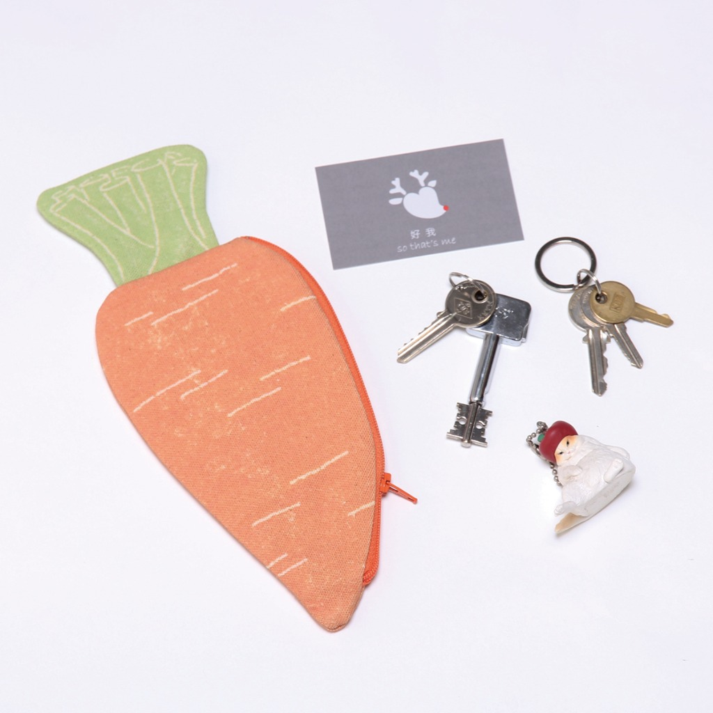 蔬果小物包/紅蘿蔔