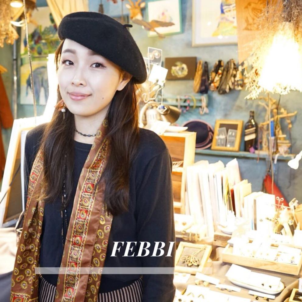 設計師專訪│Febbi - 四季變化與大自然元素的結合