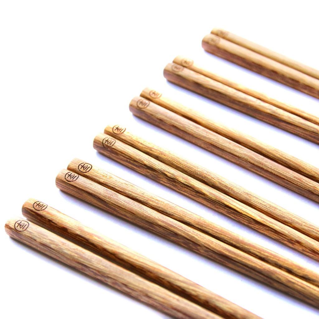 木入三分。雞翅木筷(6雙入)