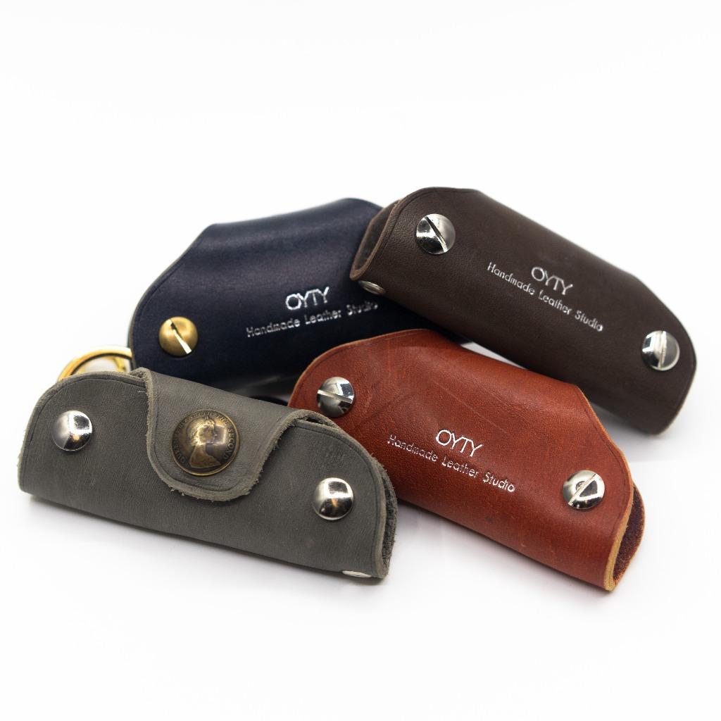 OYTY SS/18 錢幣系列- 多色真皮鑰匙包
