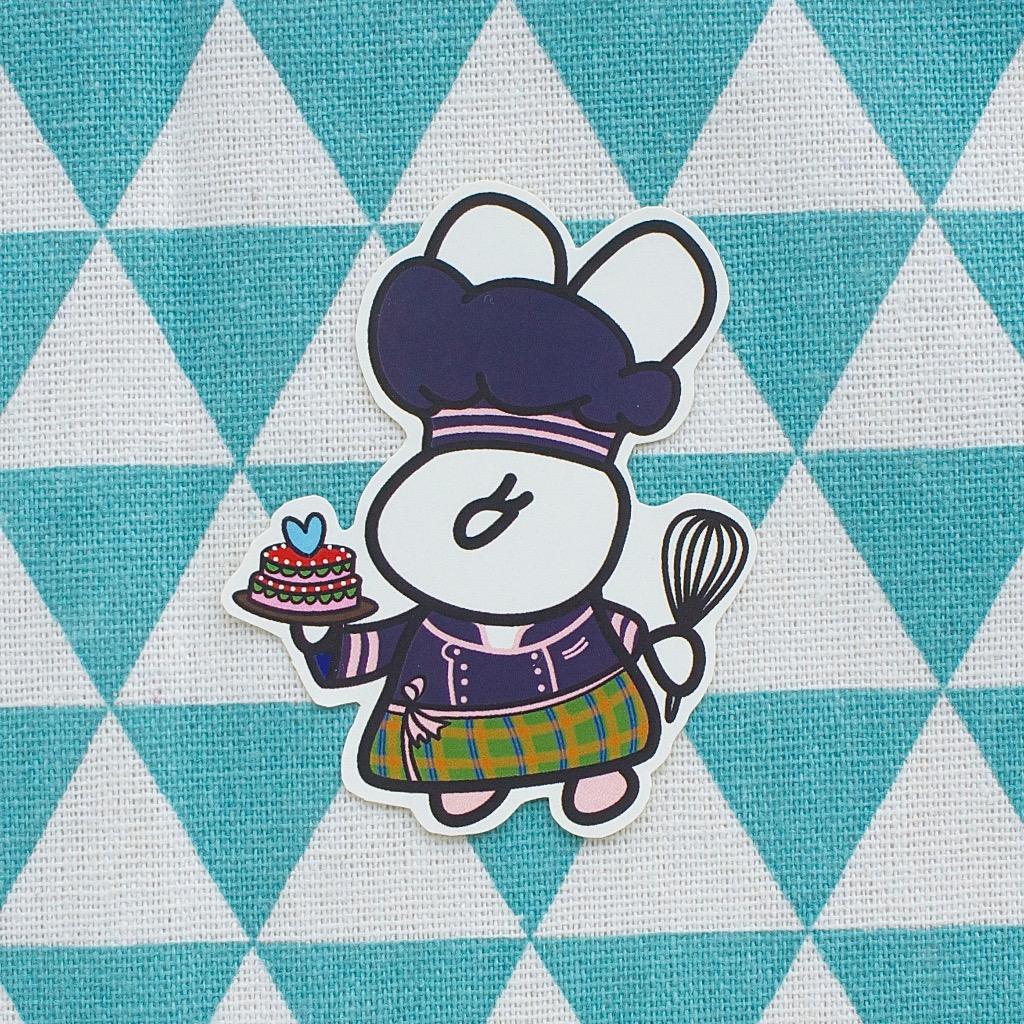 Fuzzy Family 造形系列貼紙 - 甜品大師