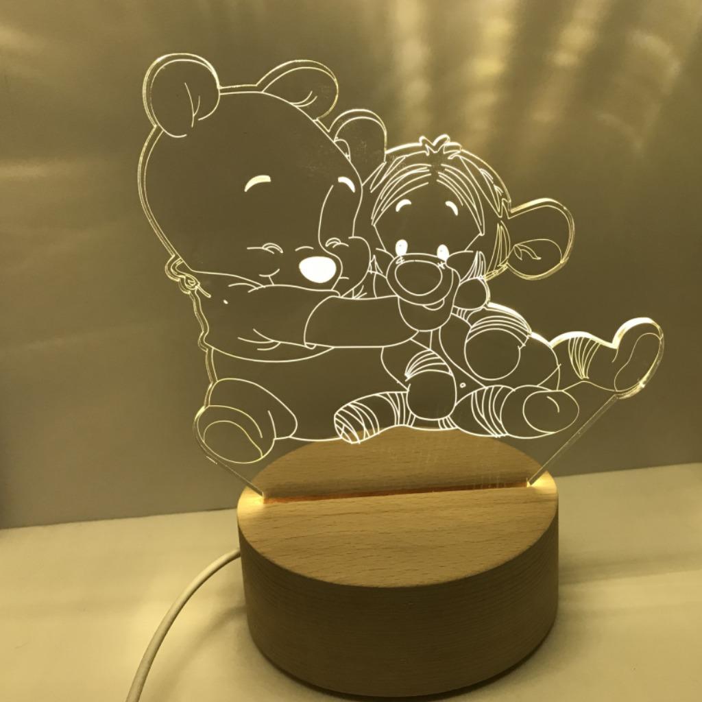 卡通客製夜燈
