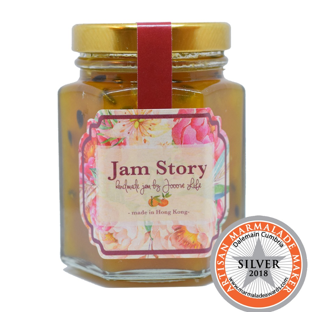 【得獎果醬】熱情果香橙橙花果醬 Passionfruit Orange Neroli Jam (100g)