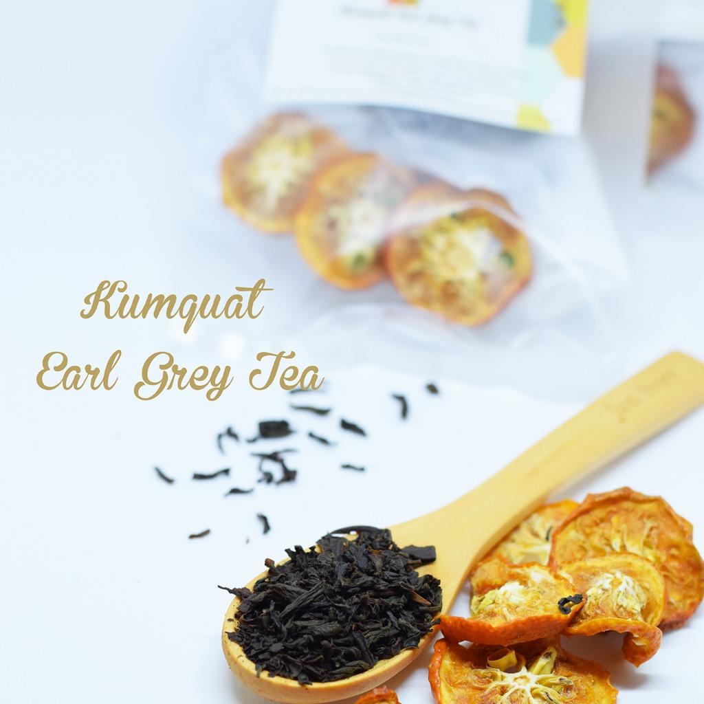 柑桔伯爵茶茶 Kumquat Earl Grey Tea