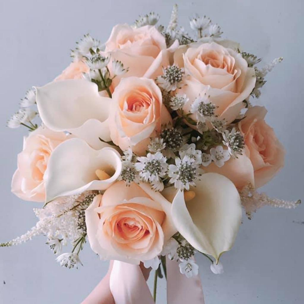 Valentines Day - Peach Bouquet