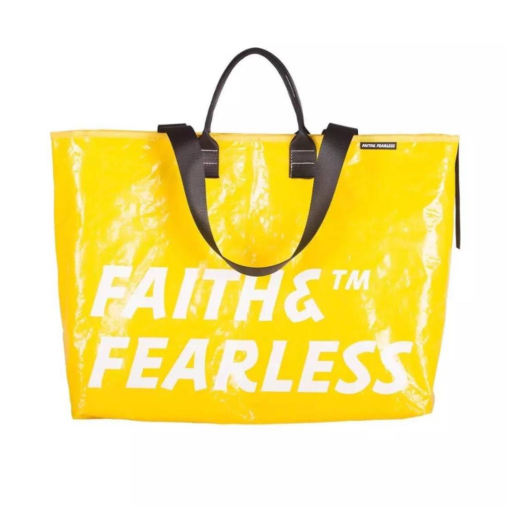 Faith & Fearless Pop Bag 袋_檸檬色