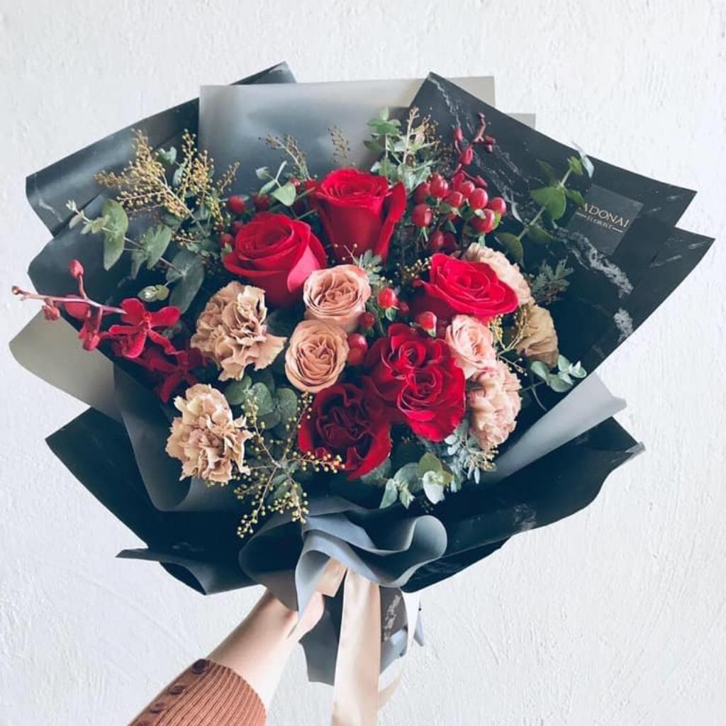 Valentines Day - Vintage Bouquet