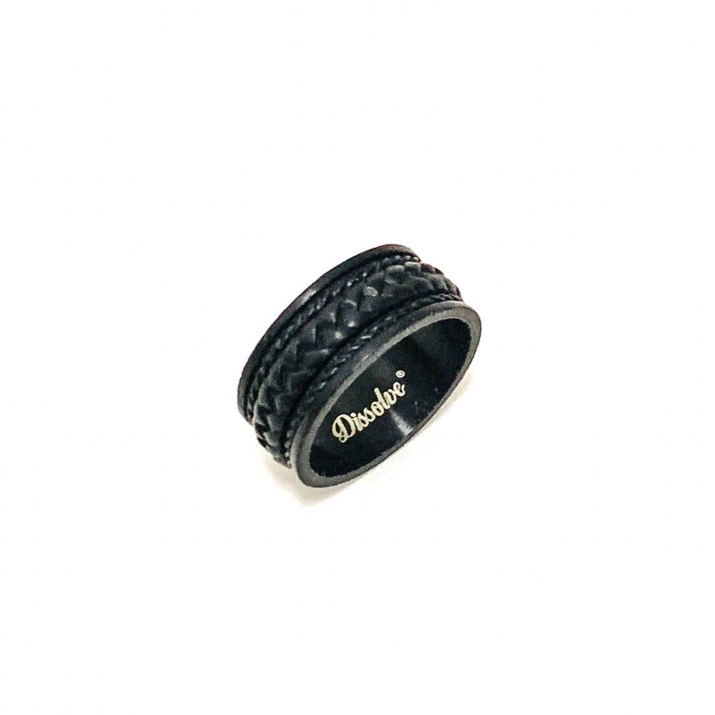 藤紋戒指(配鏈)_內框黑色