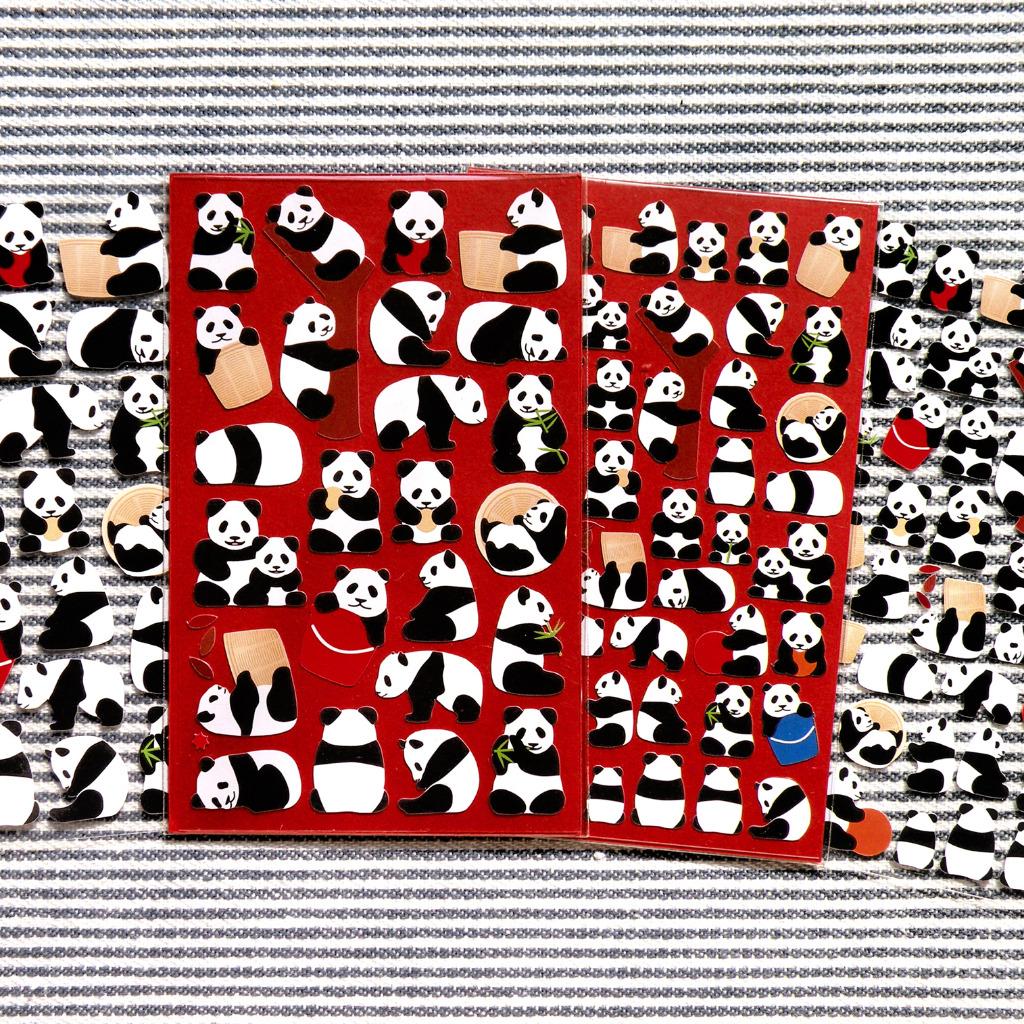 熊貓貼紙 2份組