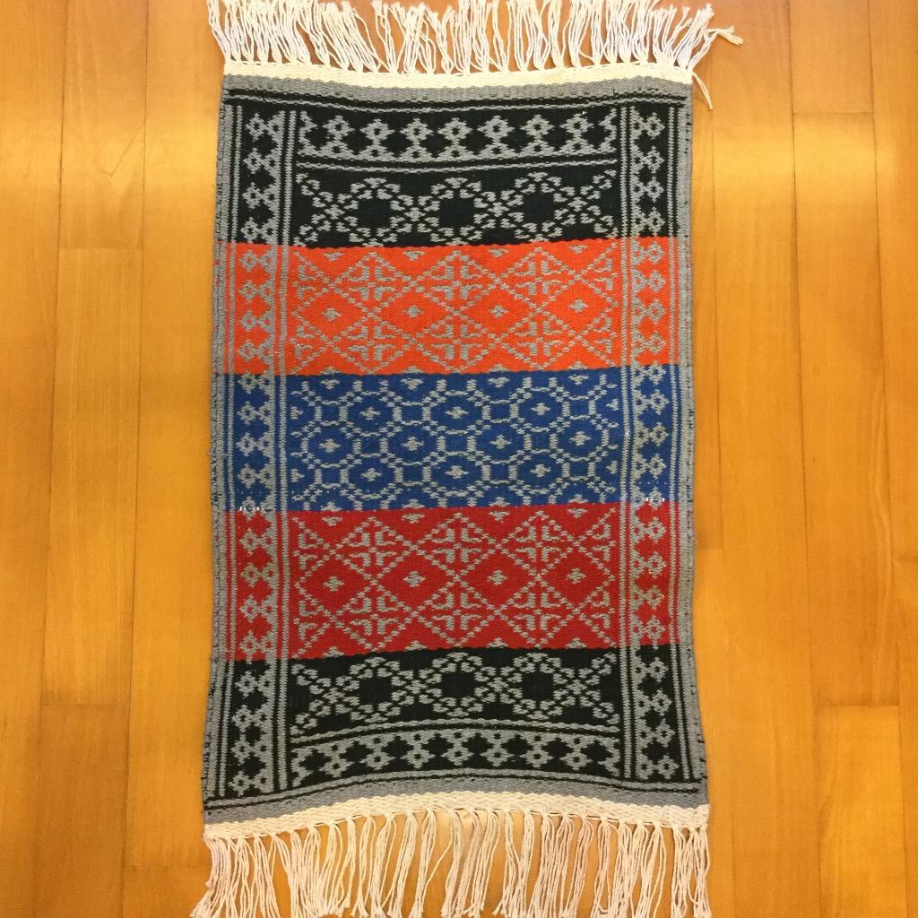 [W Home] 手織地毯 彩色
