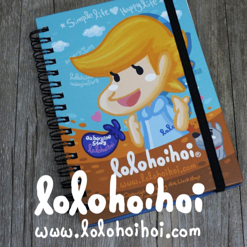 lolo A6 notesbook