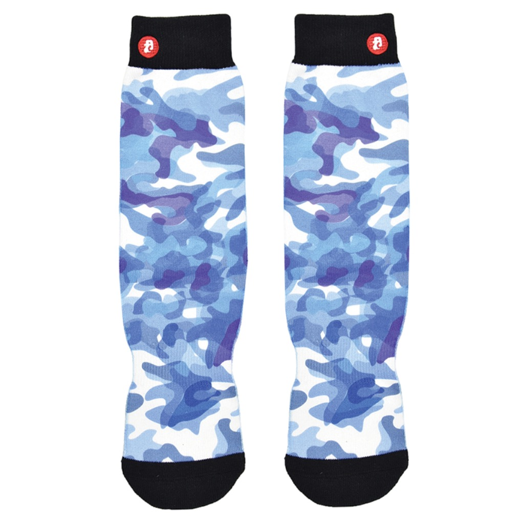 Abstract Blue Camouflage M/L