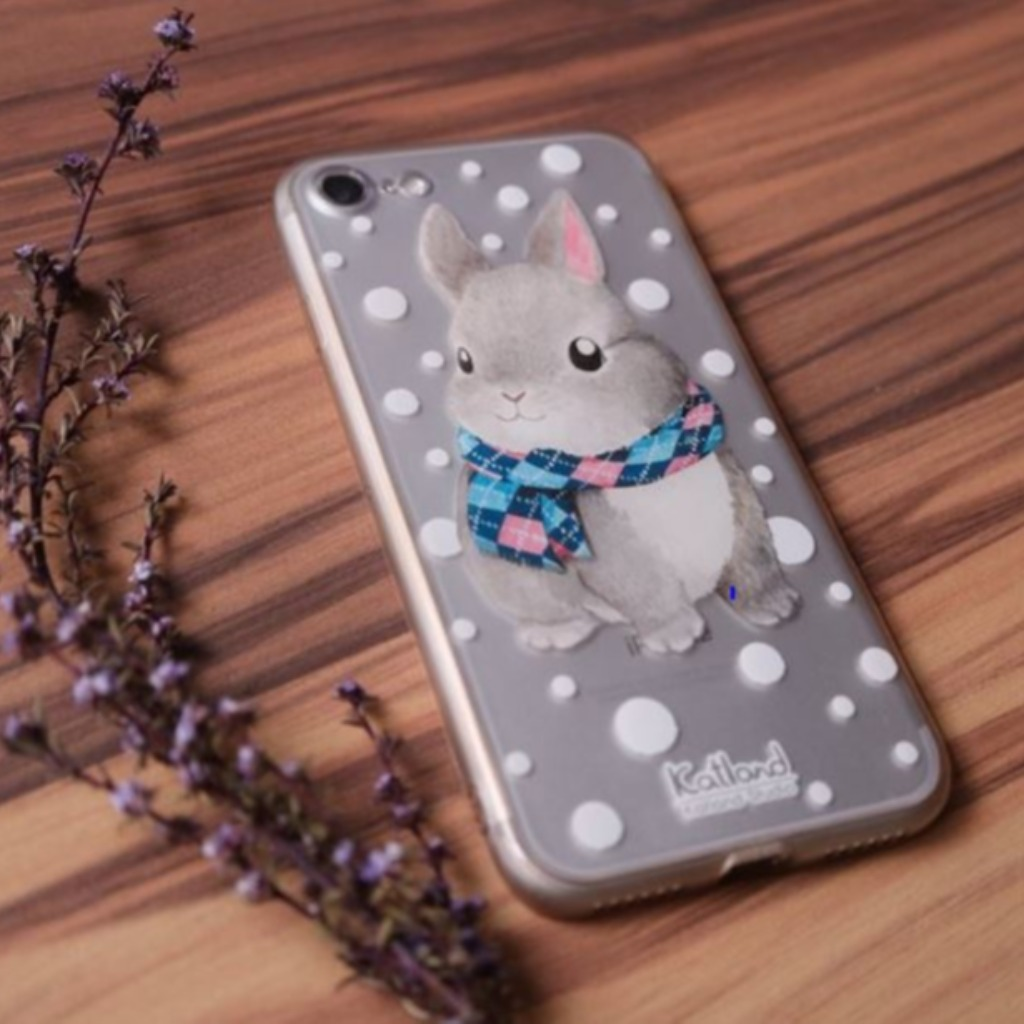 自家設計 - 小兔子手機殼 Phone Case R01_02