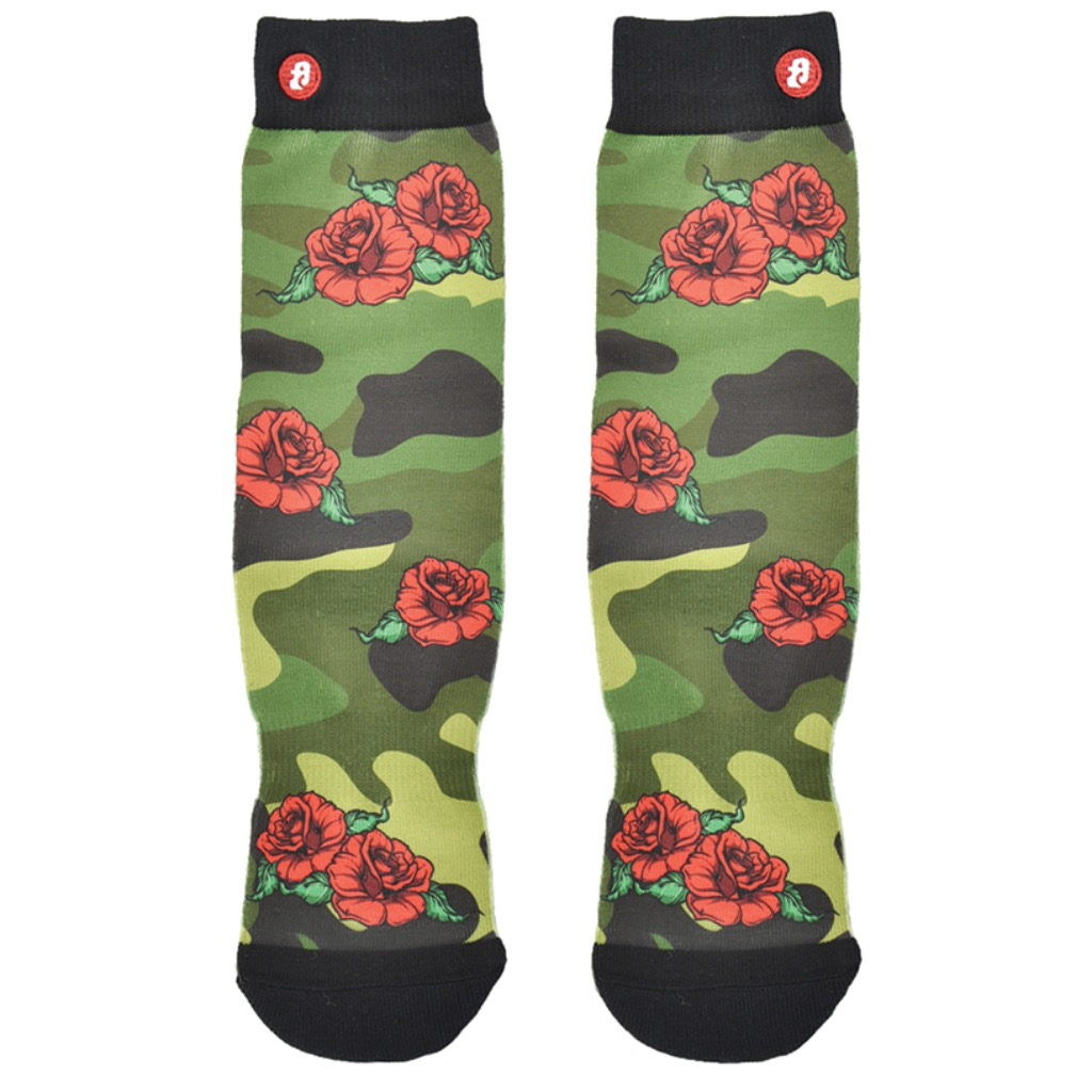 Green Camouflage x Rose S/M