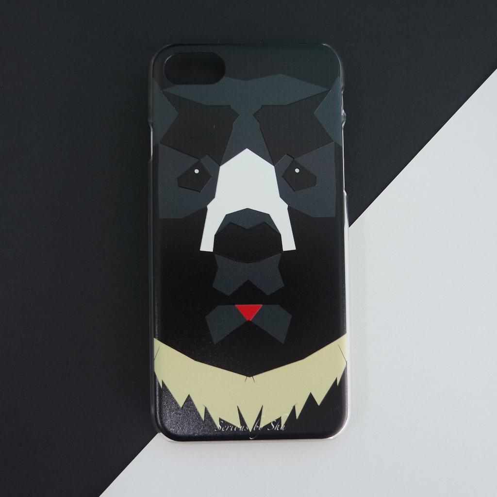 黑熊手機殻