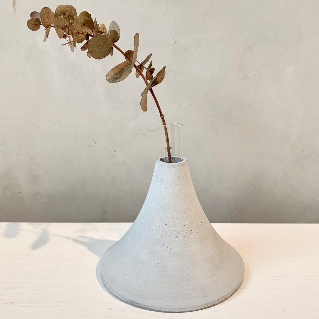 水泥花瓶   大型   高   灰