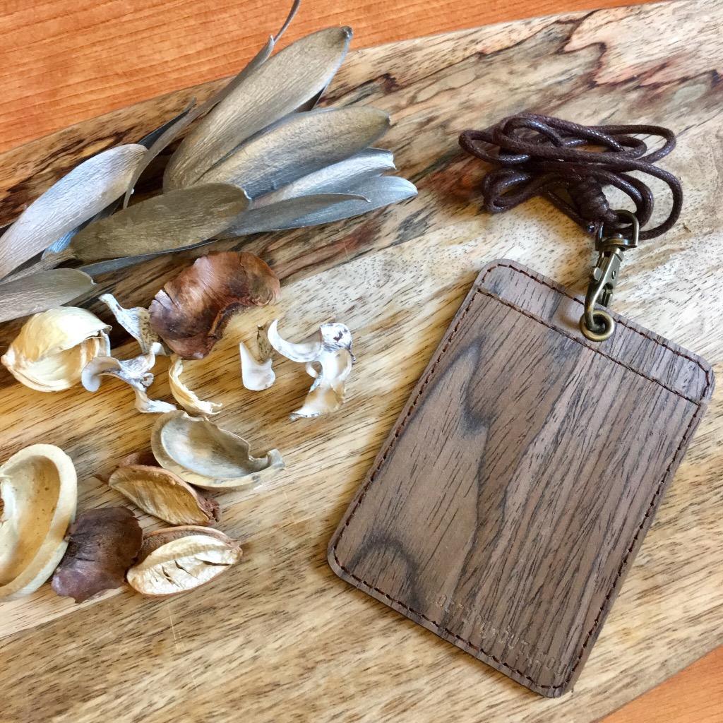 木製證件套