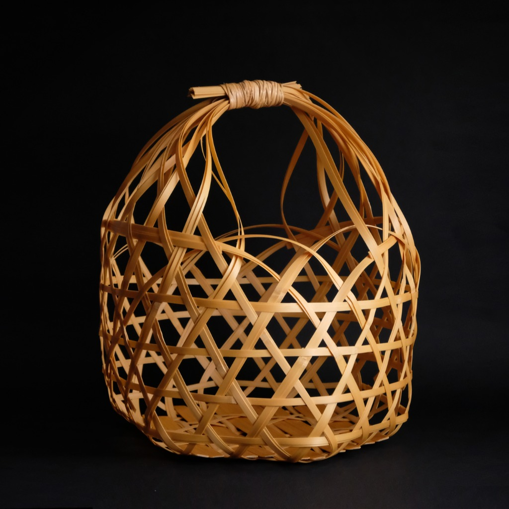 六角編水果籃子