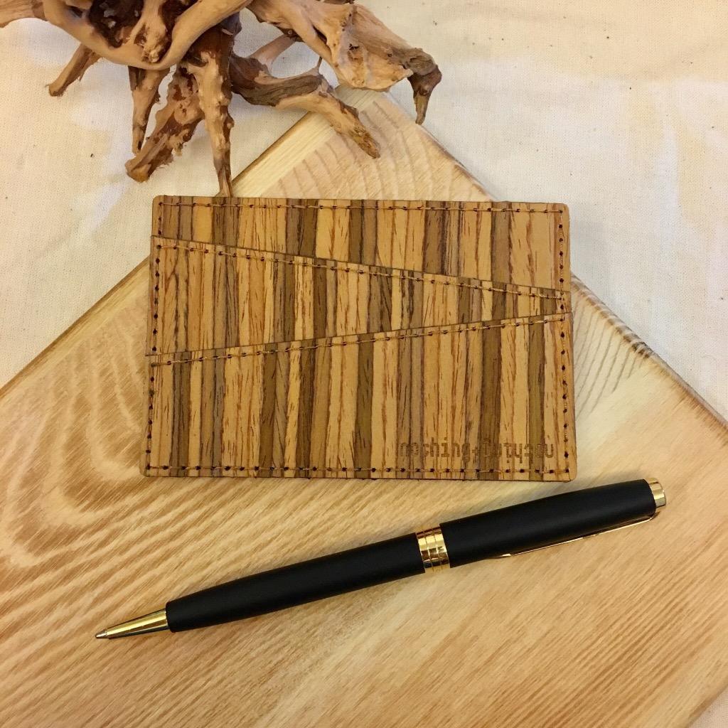 木製五格卡套