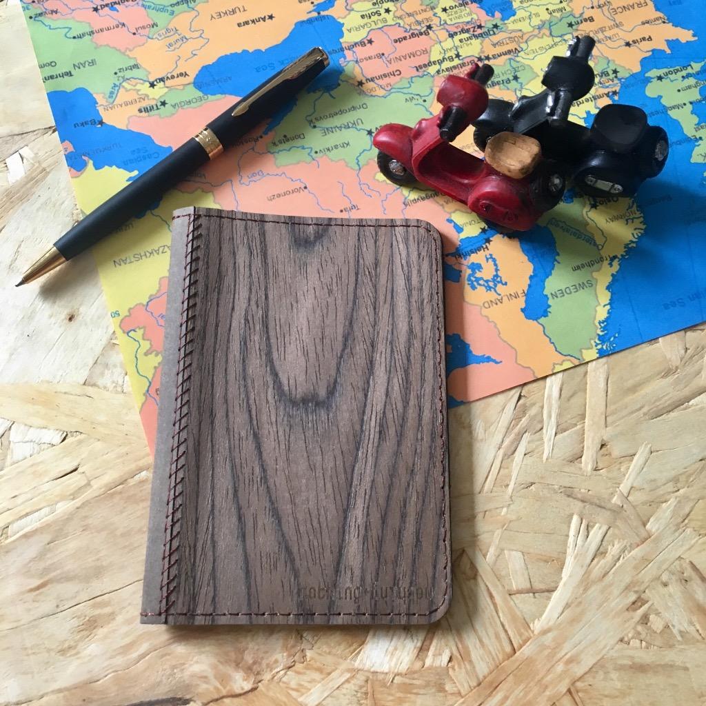 木皮護照套