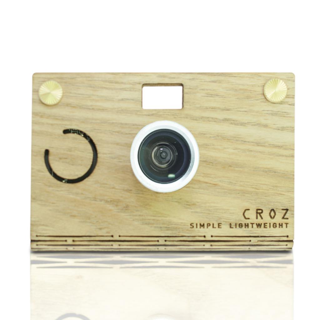 [優惠區,售完即止] CROZ D.I.Y Digital Camera 輕量木質(白蠟木)