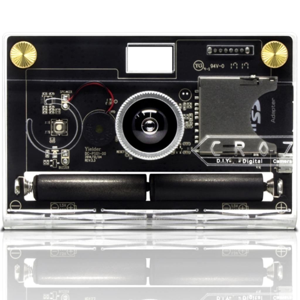 [優惠區,售完即止] CROZ D.I.Y Digital Camera 晶透前衛